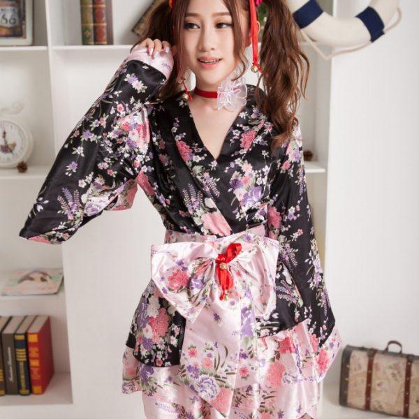 Sexy kimono 桜 さくら 豪華な 着物 浴衣 ロリータ 写真撮影-Halloween-trw0725-0075 1