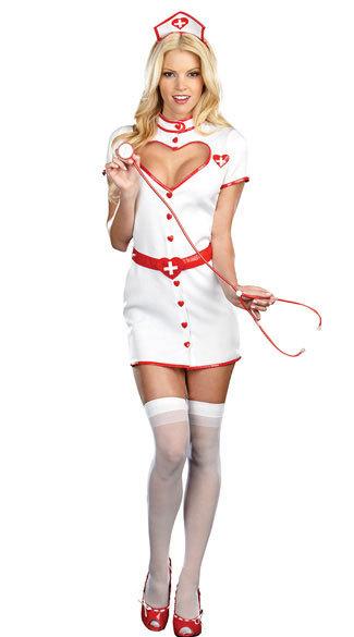 Nurse Costumes 看護婦 コスプレ cosplay 制服 セクシー ハロウィン衣装 看護師 白衣-Halloween-trw0725-0090 1