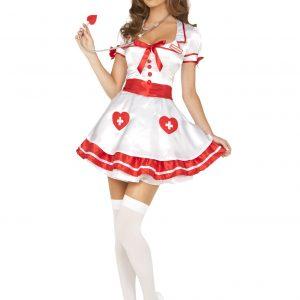 白衣 天使 看護婦 コスプレ ナース服  ハロウィン セクシー ドレス 看護師-Halloween-trw0725-0094