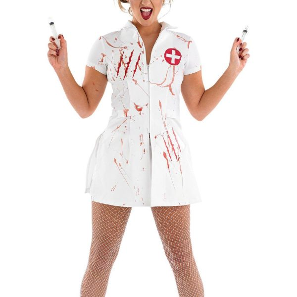 cosplay 女性 ナース コスプレ ハロウィン 吸血鬼 halloween 看護師-Halloween-trw0725-0114 1