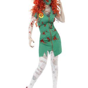 ナース服 コスプレ衣装  看護婦 セクシー cos キレイめ ハロウィン 大人用 制服 吸血鬼-Halloween-trw0725-0117