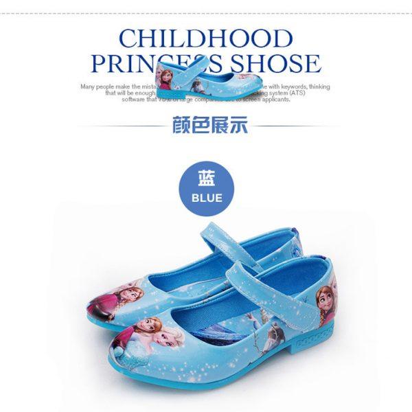 【アナと雪の女王 サンダル】キッズ 靴 子供用 女の子 可愛い -Halloween-trw0725-0125 1