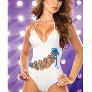 カバーオール 水着 セクシー ビキニ 女性 サロペット  ポップカラー-Halloween-trw0725-0141
