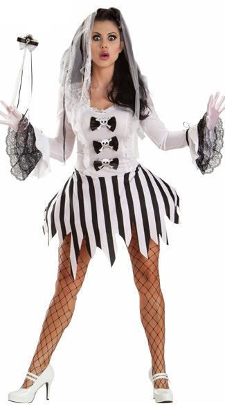 バンパイア ハロウィン 鬼新娘 魔女 プリンセス cosplay ドレス 幽霊 コスチューム衣装 頭蓋骨-Halloween-trw0725-0153 1