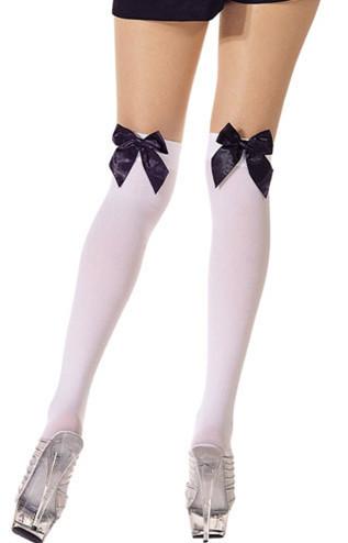 かわいく セクシー に魅せる♪ ハロウィン オーバニー ストッキング 靴下 学生 メイド コスプレ-Halloween-trw0725-0158 1