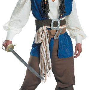Pirate カリビアン 大人用 海賊 船長  ハロウィン cosplay 舞台演出服 コスプレ衣装-Halloween-trw0725-0245