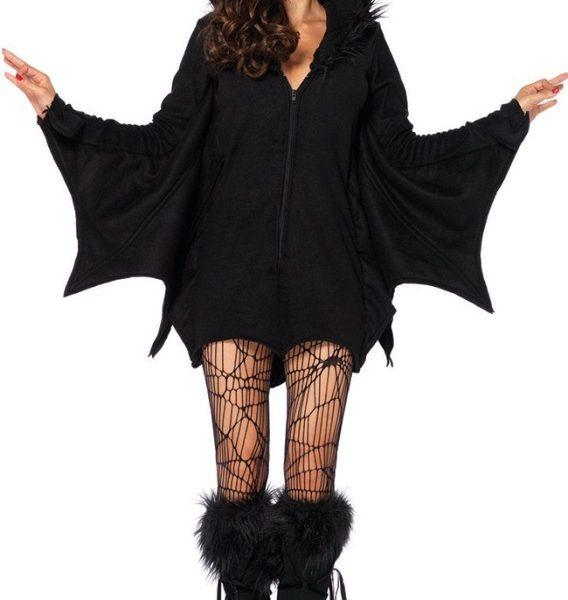 2015新作 ブラック バンパイア 大人用 バットマン 仮装用 おば コスプレ ハロウィン-Halloween-trw0725-0257 1