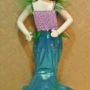 ディズニー マーメイドプリンセスドレス  ハロウィン cosplay服 人魚姫/マーメイド-Halloween-trw0725-0278