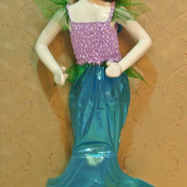 ディズニー マーメイドプリンセスドレス  ハロウィン cosplay服 人魚姫/マーメイド-Halloween-trw0725-0278 1