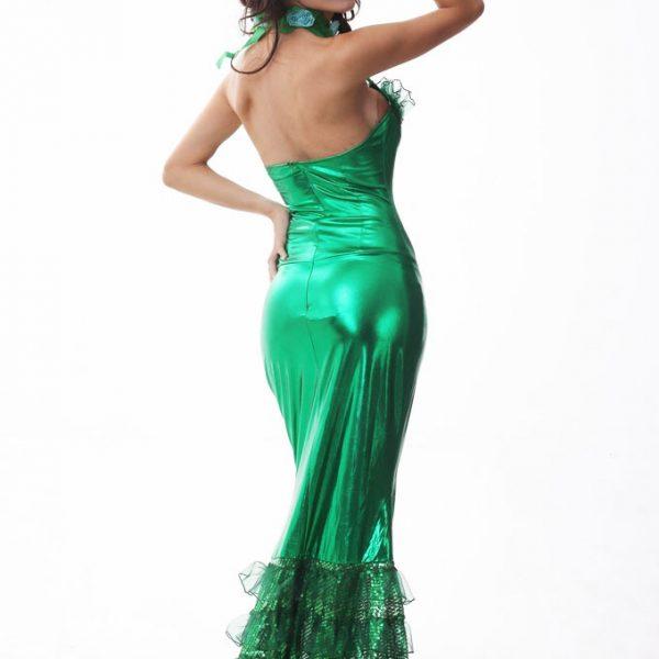 ハロウィン 人魚姫 コスチューム クリスマス コスプレ 人魚姫 スパンコール クリスマス コスチューム 衣装 マーメイド 人魚姫 アリエル コスチューム ドレス-Halloween-trw0725-0381 1