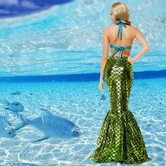 人魚 衣装 コスプレ マーメイドスーツ 大人用 女性用 ハロウィン-Halloween-trw0725-0419