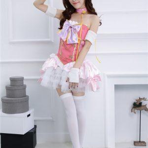 ラブライブ!lovelive スクフェス SR お祭り編 覚醒後 南 ことり コスプレ衣装 lolita-Halloween-trw0725-0420