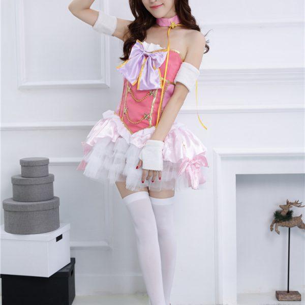 ラブライブ!lovelive スクフェス SR お祭り編 覚醒後 南 ことり コスプレ衣装 lolita-Halloween-trw0725-0420 1
