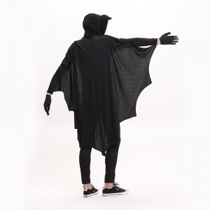 ハロウィン 衣装 大人用 男性用【 吸血鬼 バットマン 高品質豪華コウモリ衣 】 ハコスプレ 衣装 仮装 -Halloween-trw0725-0441