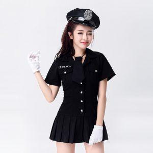新作 ナイトクラブ cosplay 制服 police セクシー コスプレ衣装 ポリス 女警官-Halloween-trw0725-0483