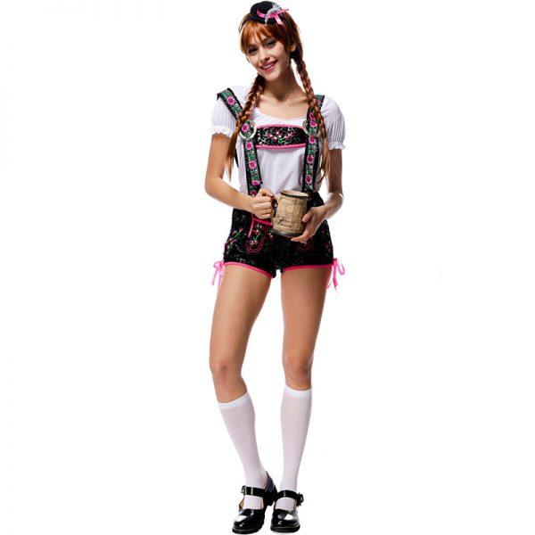 ハロウィン ビールガール ドイツ メイド 民族衣装 コスプレ衣装-Halloween-trw0725-0499 1