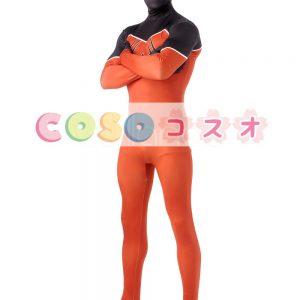 全身タイツ オレンジ色 大人用 ユニセックス スパイダーマン ―taitsu-tights1052