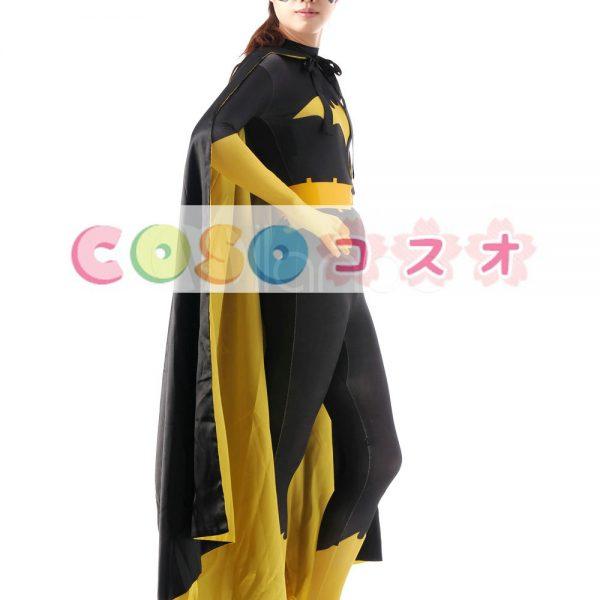 全身タイツ ブラック 大人用 ユニセックス バットマン ―taitsu-tights1088
