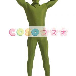 全身タイツ グラスグリーン ライクラ・スパンデックス 大人用 ―taitsu-tights1371
