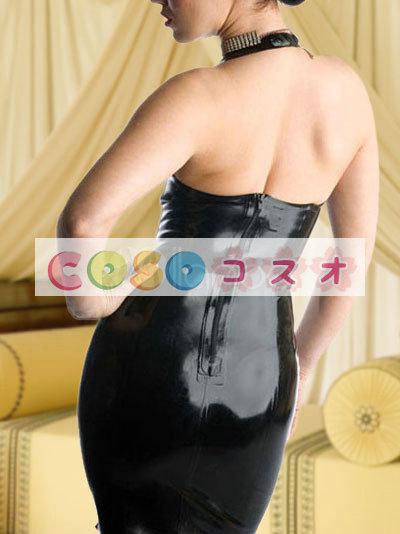 コスチューム衣装 ワンピース ブラック オーダーメイド可能 セクシー―taitsu-tights0425