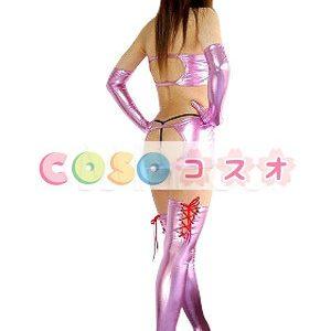 全身タイツ,メタリック 女性用 大人用 セクシー コスチュームドレス ―taitsu-tights0432