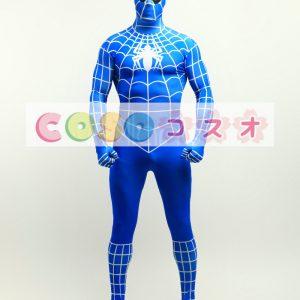 全身タイツ スパイダーマン風 コスプレ コスチューム衣装―taitsu-tights0665