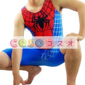 全身タイツ スパイダーマン風 コスプレ コスチューム衣装―taitsu-tights0763