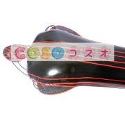 コスチューム衣装 全身タイツ メタリック ブラック レオタード ジャンプスーツ 大人用 女性用 ―taitsu-tights0146 2