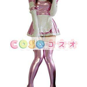 メタリック全身タイツ オーダーメイド可能 メイド風 コスチューム衣装  ―taitsu-tights0510