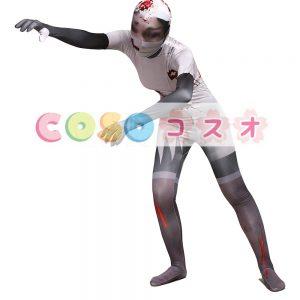 全身タイツ,大人用 ユニセックス 変装コスチューム カラーブロック 開口部のない全身タイツ  ―taitsu-tights0566