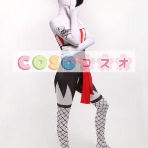 全身タイツ,大人用 大人気 ユニセックス コスチューム カラーブロック 開口部のない全身タイツ ―taitsu-tights0853