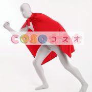 コスチュームアクセサリー ポンチョ マント 大人用 レッド ハロウィン コスプレ―taitsu-tights0975 2