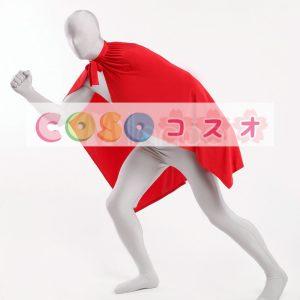 コスチュームアクセサリー ポンチョ マント 大人用 レッド ハロウィン コスプレ―taitsu-tights0975