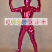 メタリック全身タイツ,フクシア ユニセックス 子供用 コスチューム衣装 開口部がない  ―taitsu-tights1252 2
