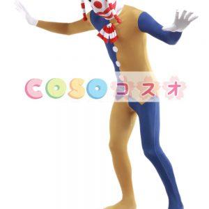 全身タイツ,ユニセックス カラーブロック 可愛い 大人用 開口部のない全身タイツ 仮装コスチューム ―taitsu-tights1269