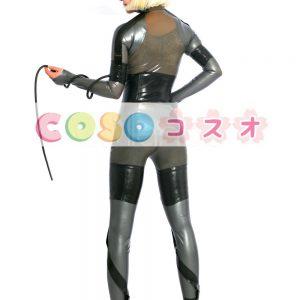 ラテックスキャットスーツ,ボディースーツ 女性用 大人用 ゲームキャラクター コスチューム―taitsu-tights0089