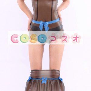 コスチューム衣装 ワンピース ラテックス トランスペアレント 大人用 女性用 ―taitsu-tights0305