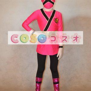 全身タイツ,ピンク ユニセックス 子供用 スーパーヒーロー コスチューム・イベント用 カラーブロック 開口部のない全身タイツ ―taitsu-tights0806