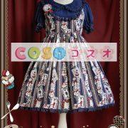 ロリータ服 OP ワンピース ウサギ柄 ロリータファッション ―Lolita0013 2