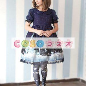 甘いレース シフォン ロリータ ワンピース ―Lolita0121