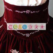美しい姫フランネル ロリータ スカートの刺繍 ―Lolita0132 2