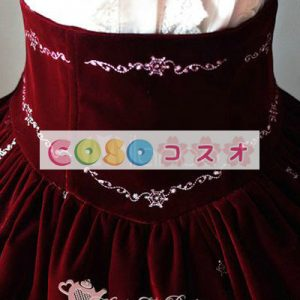 美しい姫フランネル ロリータ スカートの刺繍 ―Lolita0132