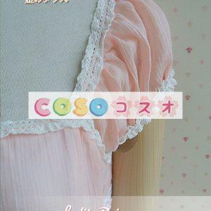 素敵なスクエア ネック弓レース ロリータ ドレス ―Lolita0244