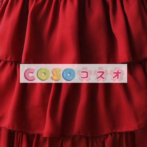 Liebesgruss 花柄プリント ジャンパー スカート スカート ―Lolita0303
