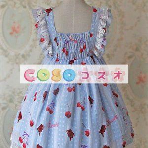 甘い弓シフォン ロリータ ワンピース ―Lolita0333
