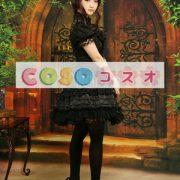ロリータセパレート,ブラック ショートスリーブ ティアド ゴシック シャツ  ―Lolita0879 2