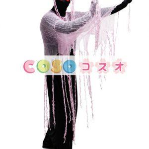 ハロウィン ゴースト コスチューム 赤い目 コスチュームコスプレ―festival-0132