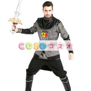 騎士 ローマ コスチューム ゲーム・オブ・スローンズ ハロウィン ポリエステル―festival-0631