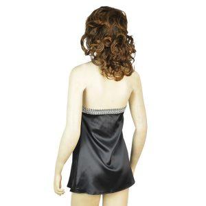クラブドレス,レッド  ホルターネック バックオープン ストラップ調節可能 -halloween-trz0725-0136