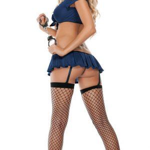 コスプレ ポリス ハロウィン 衣装 コスチューム ミニスカポリス 警官 婦警 警察官 ハロウィーン 制服 仮装 コスプレ衣装 ミニスカ -Halloween-trw0725-0005